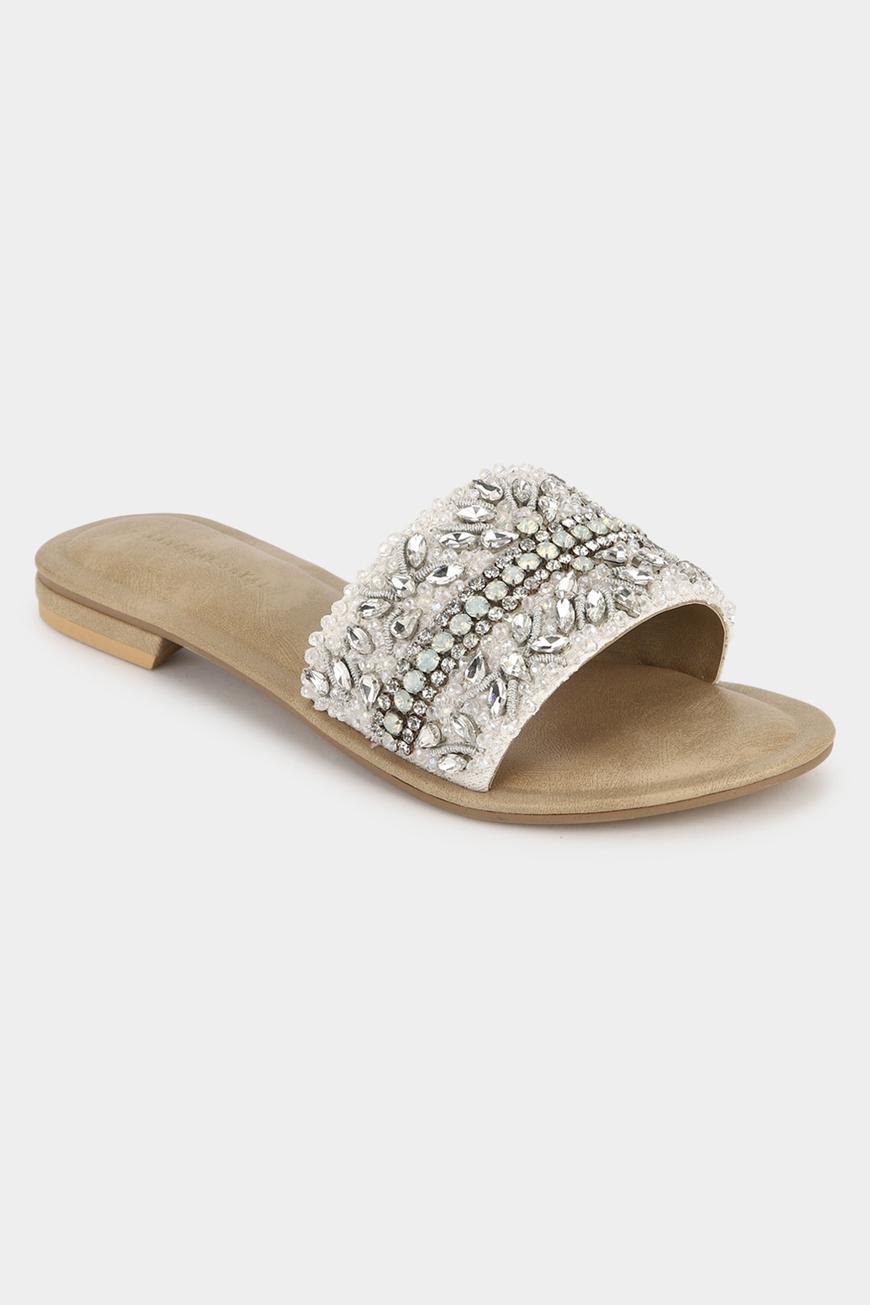 Crystal Embellished Sliders