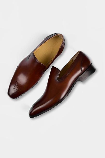 Hand Painted Brogue Loafers
