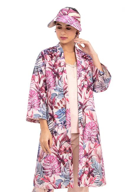 Printed Long Jacket