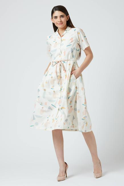 Emma Printed Dress
