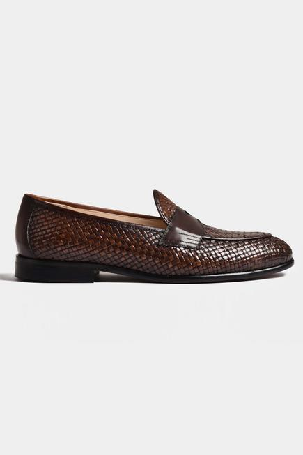 Handwoven Penny Loafers
