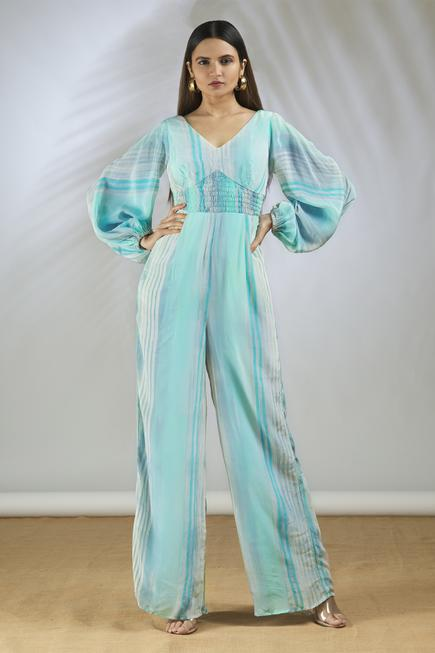 Hand Painted Jumpsuit