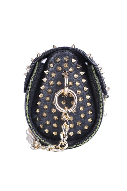 Embellished Barrel Sling Bag