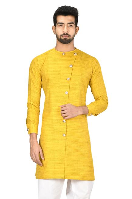 Cotton Silk Kurta Set