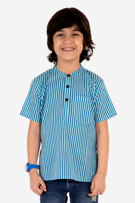 Striped Short Kurta