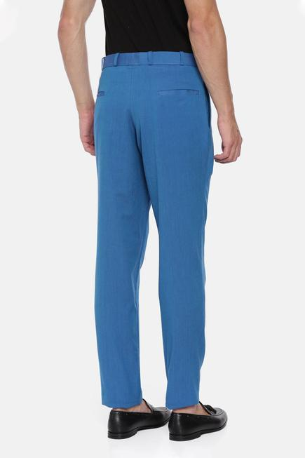 Cotton Pleated Trousers