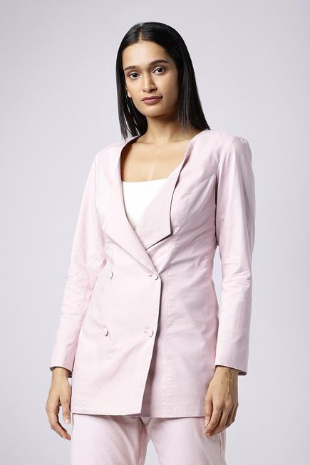Double Breasted Blazer with Pant