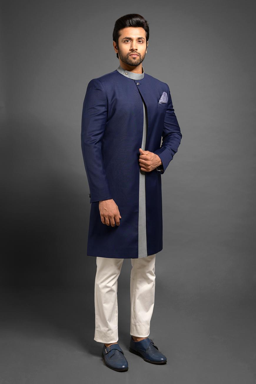 Front-Open Sherwani