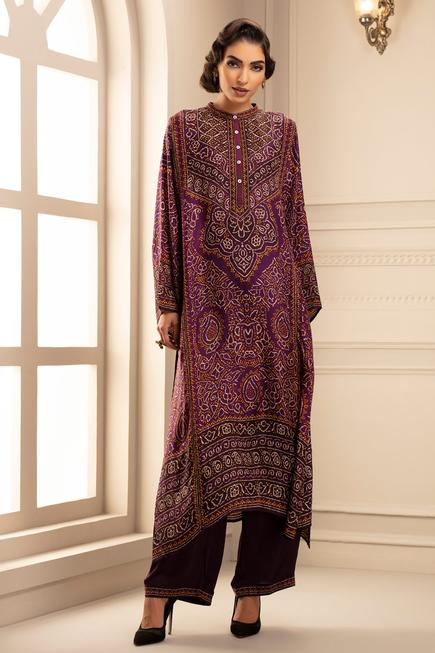 Silk Kurta & Pant Set