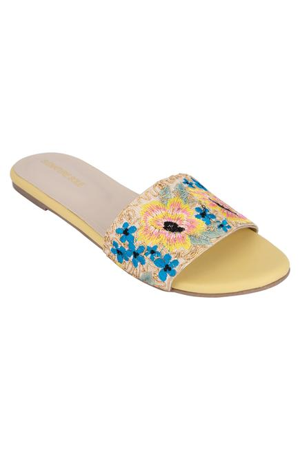 Embroidered Sandals