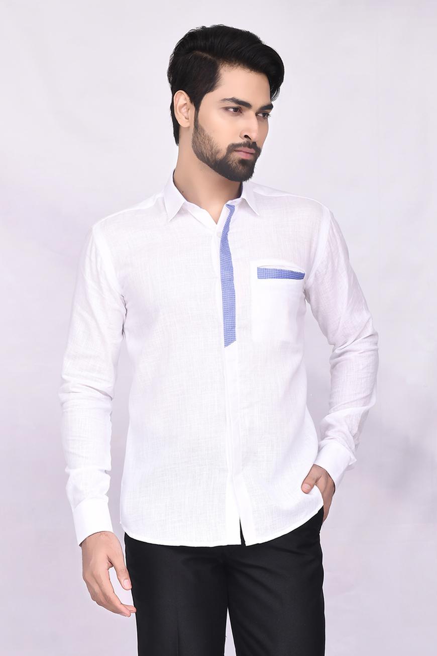 Slub Cotton Shirt