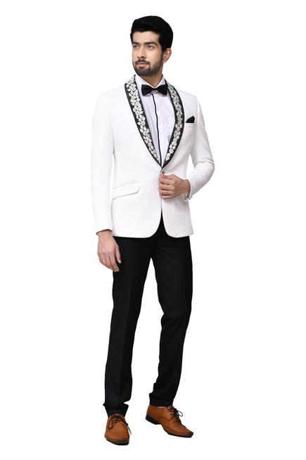 Quilted Tuxedo & Pant Set