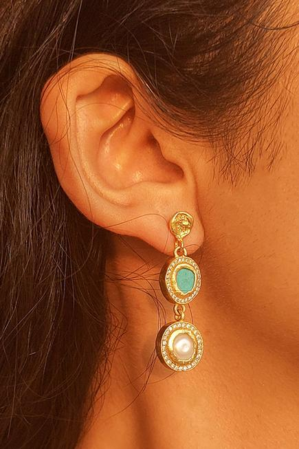 Tiered Studded Danglers