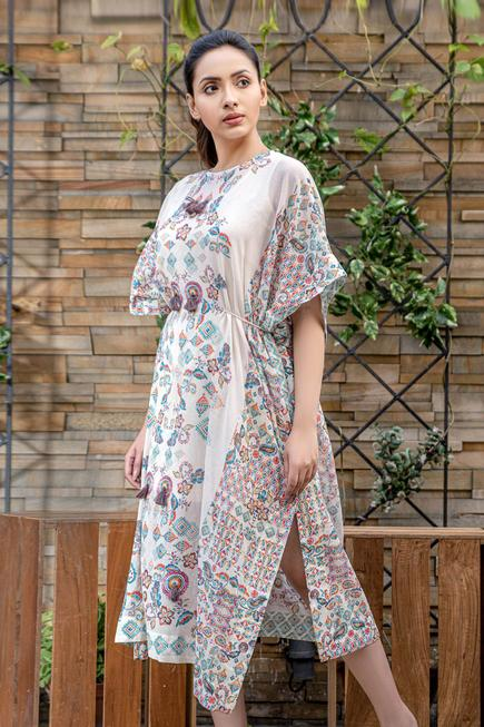 Organic Cotton Kaftan Dress