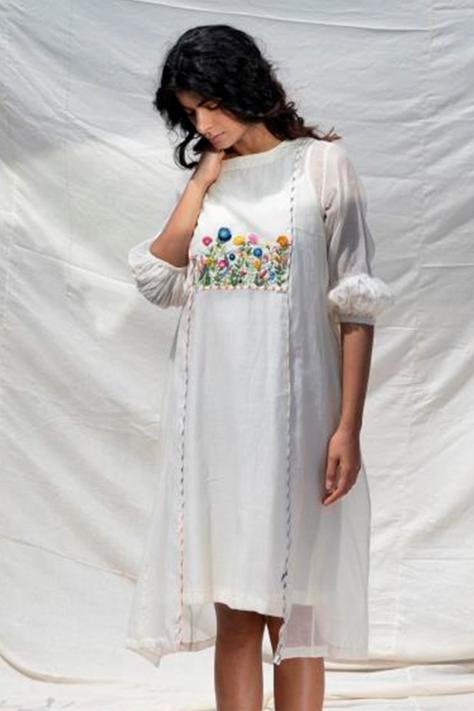Handwoven Dress with Inner