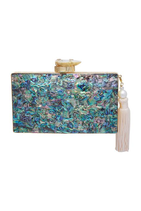 Color Burst Abstract Clutch cum sling