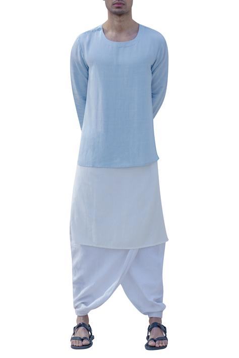 Shoulder Button Kurta