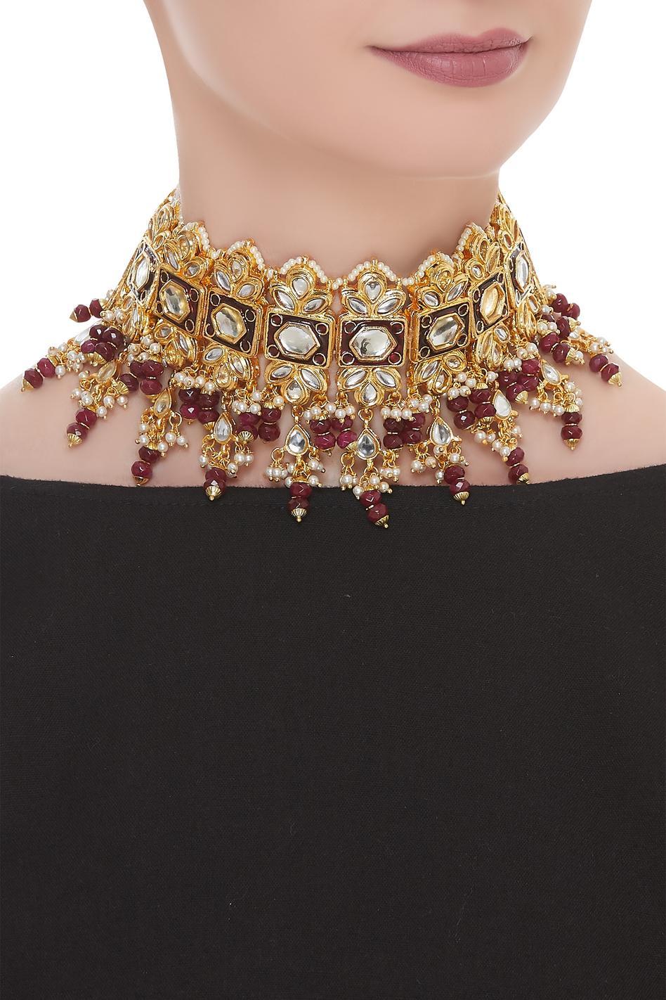 Jadtar Choker Necklace