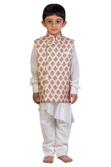 Kurta set with nehru jacket