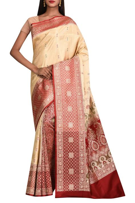 Pure Silk Saree with Running Blouse