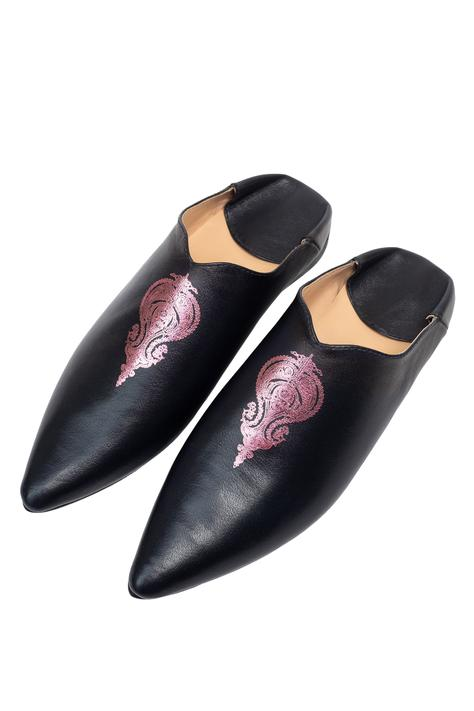 Hand Padded Mule Shoes