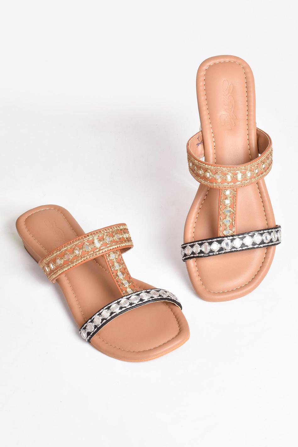 Vegan Leather Kolhapuri Sandals