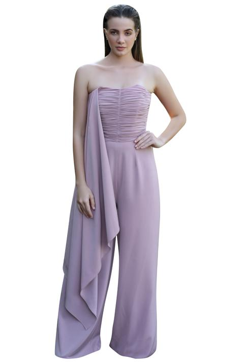 Draped Jumpsuit