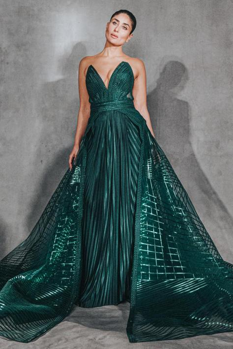 Hand Embellished Gown