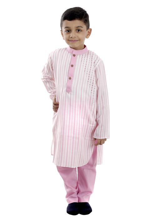 Striped Kurta Set