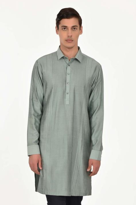 Pintuck Short Kurta