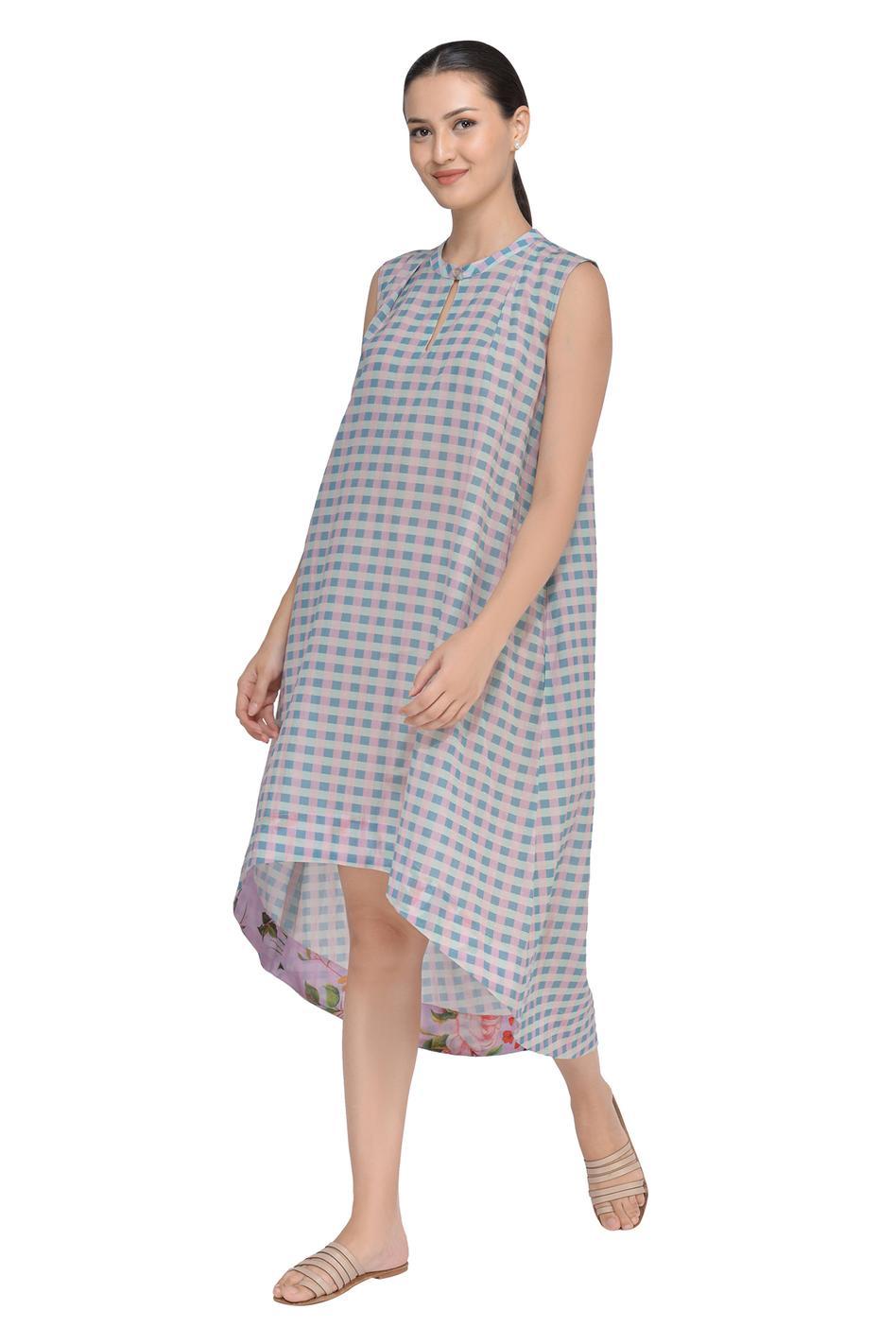 Checkered Tent Dress