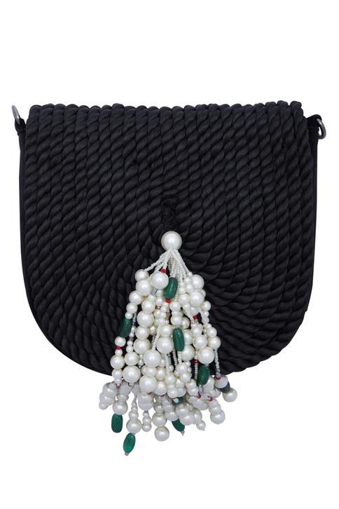 Rope Embellished Sling Bag