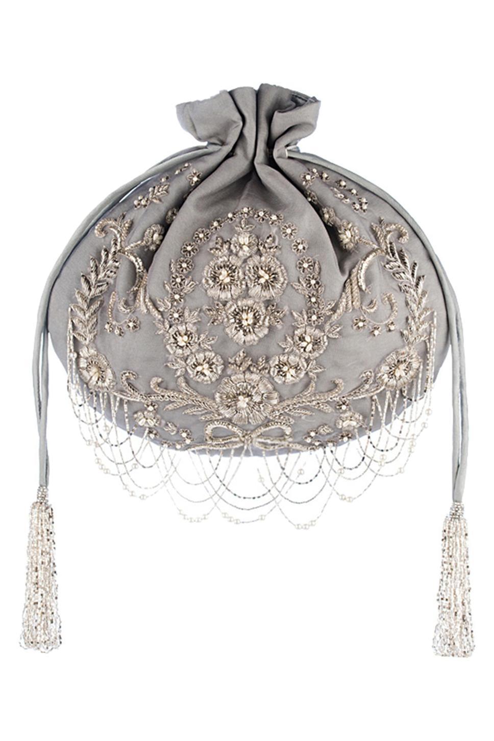 Vintage Hand Embellished Potli Bag