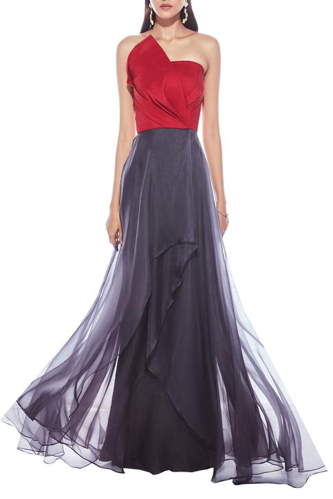 Bandeau Layered Gown