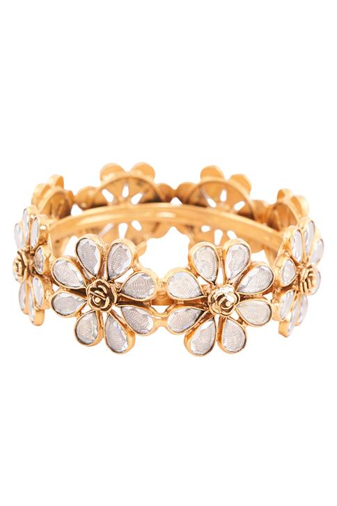 Amna Crystal Bangle