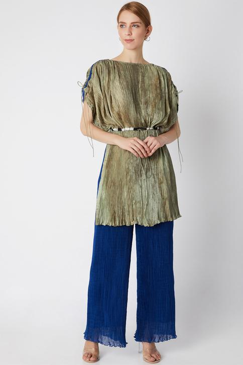 Cotton Silk Kaftan Tunic