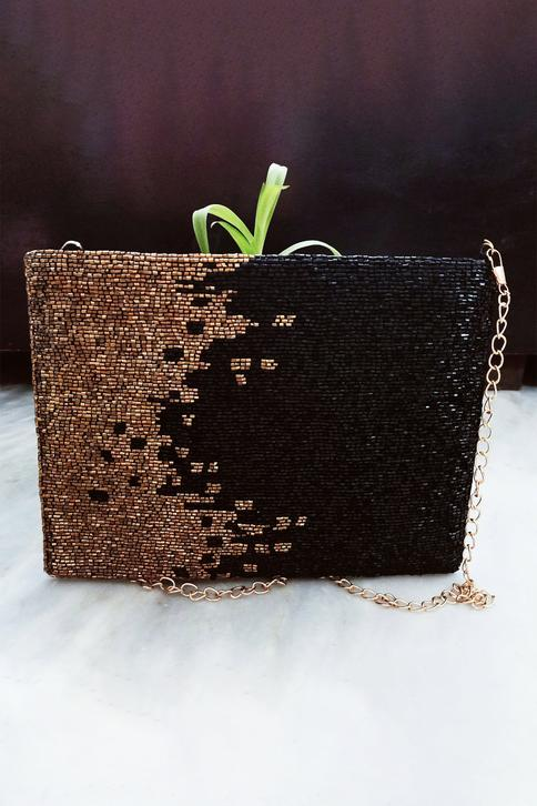 Envelope Silk Clutch with Sling