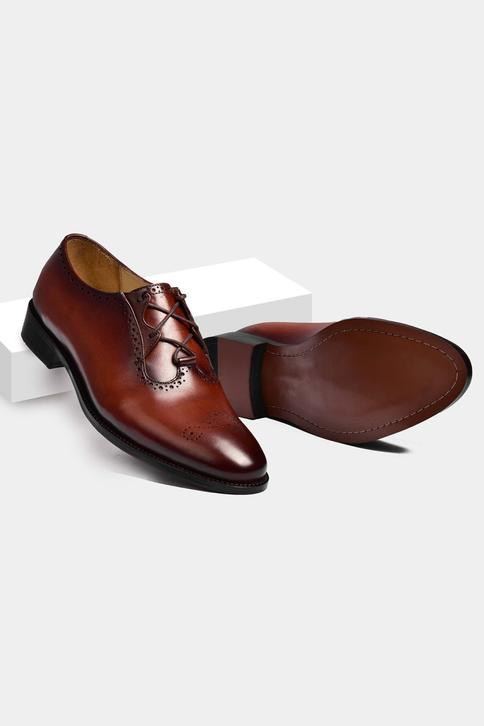 Hand Painted Brogue Shoes
