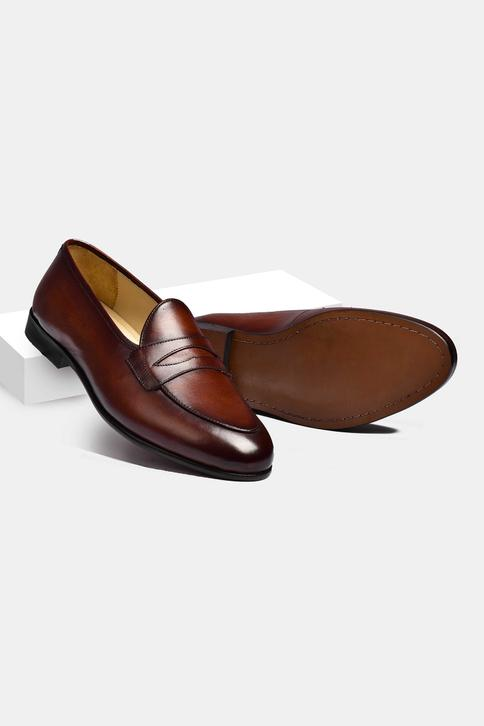 Hand Painted Penny Loafers