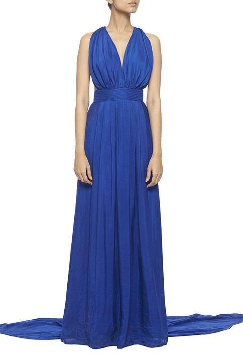 Backless Halter Gown