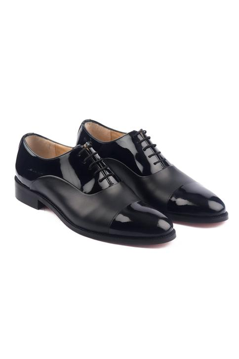 Hand Painted Cap Toe Oxfords