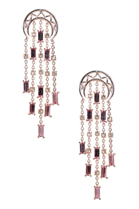 Tiered Crystal Danglers