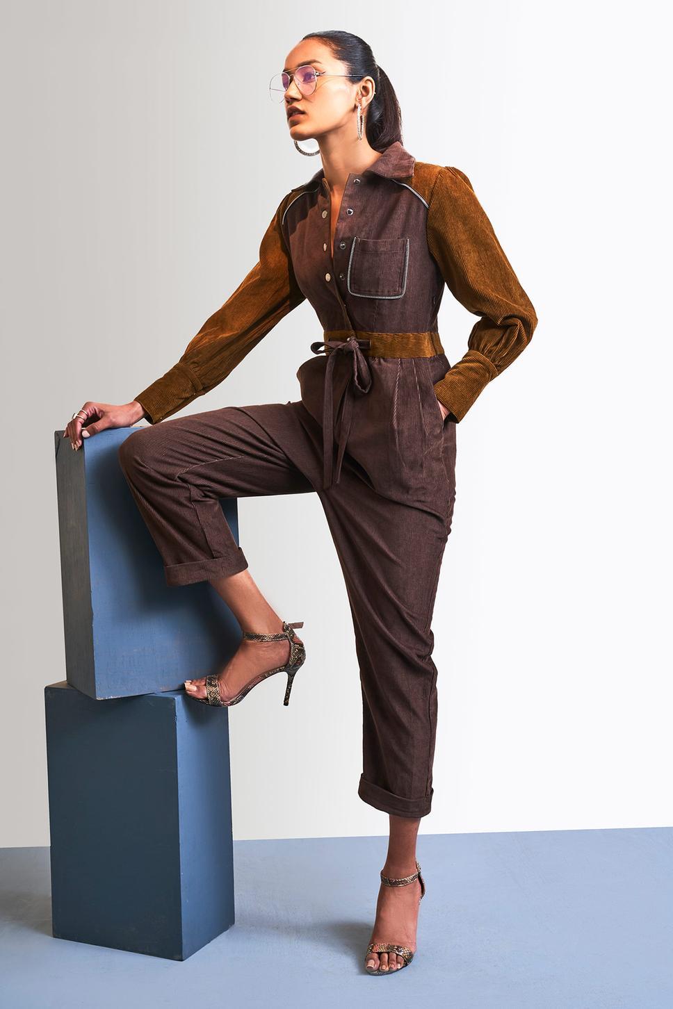 Corduroy Mix & Match Jumpsuit