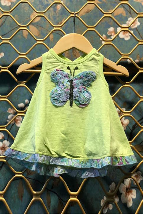 Butterfly Embroidered Dress