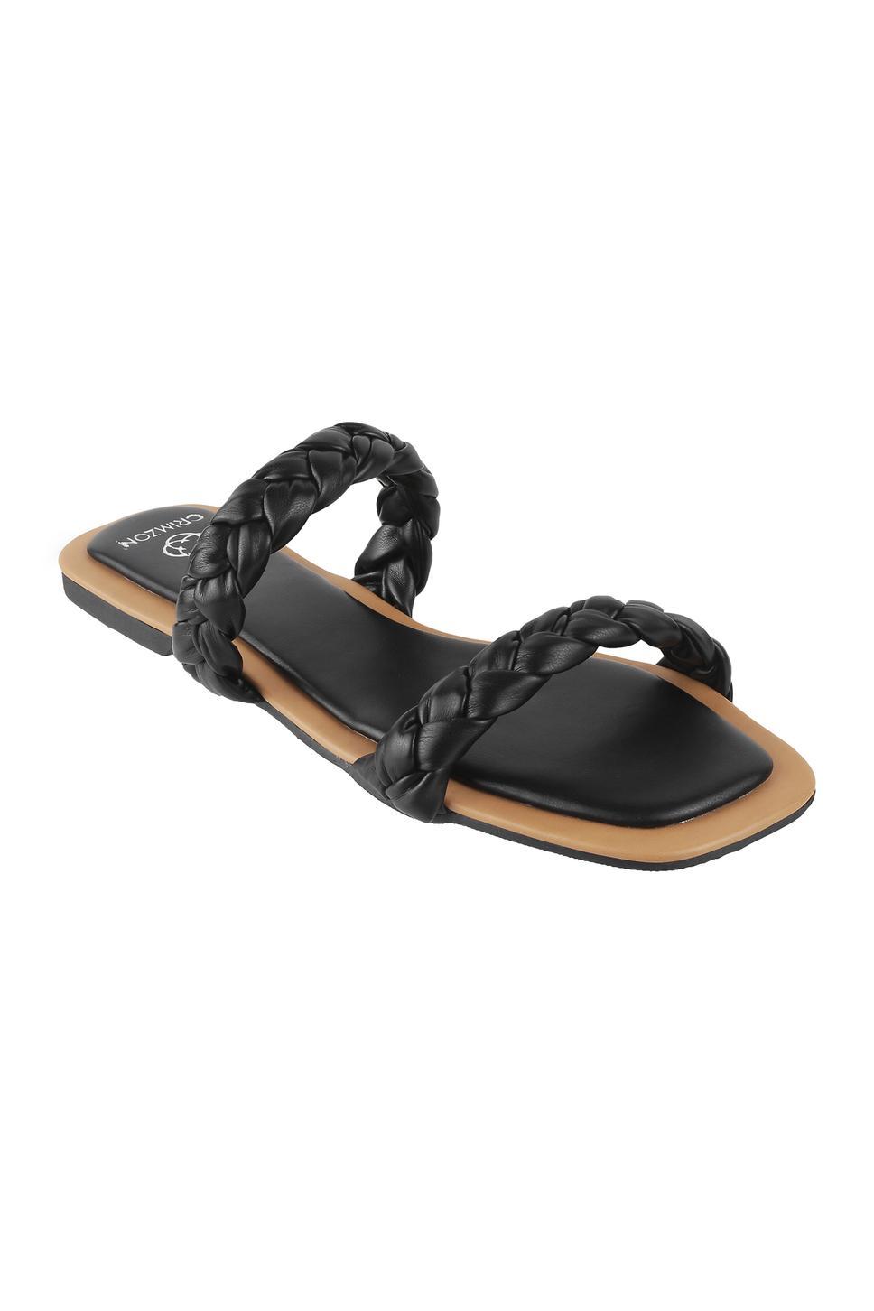 Dusk Braided Strap Sandals