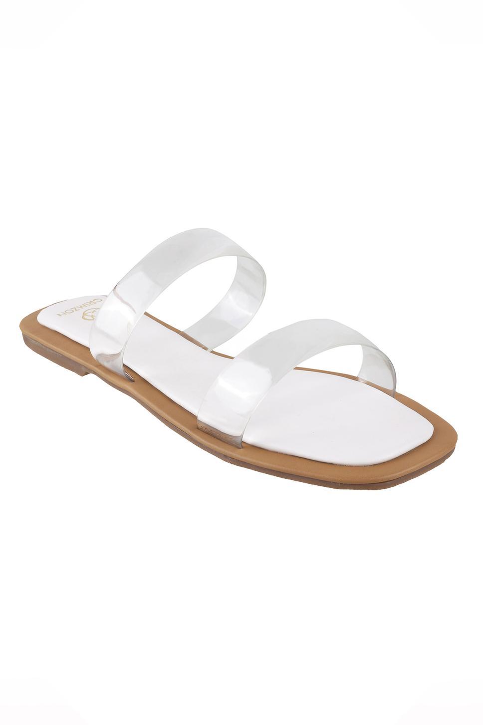 Aura Clear Strap Sandals