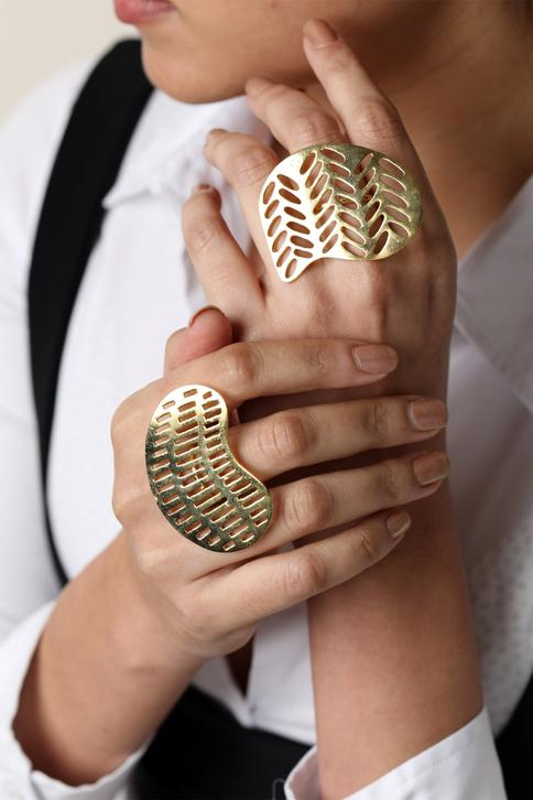 Handcrafted Cutwork Ring (Single Pc)