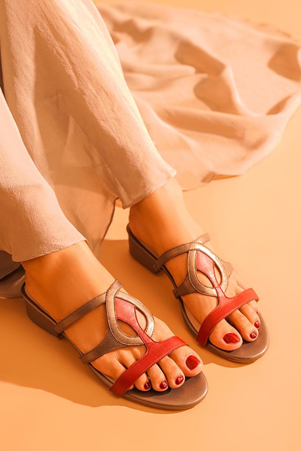 Zoya Colorblock Block Heels