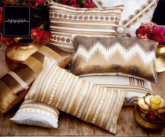 Organza Cushion Cover with Filler (Single Pc)